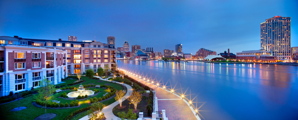 Ritz Carlton Residences Inner Harbor Baltimore Is Luxury Style Embodied Prime Building